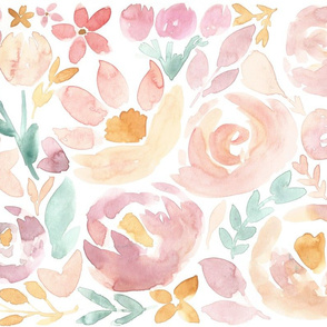 Soft Blush Fall Floral