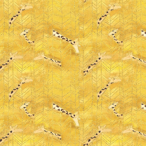 Golden Giraffe Herringbone