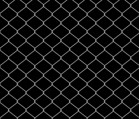 Chain Link Fence fabric by fabric_is_my_name on Spoonflower - custom fabric