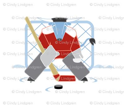 "Babe Hockey 18""panel"