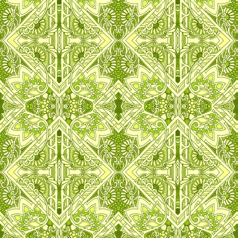 New Spring Greens fabric by edsel2084 on Spoonflower - custom fabric