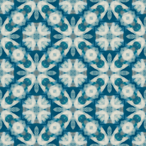 Teal Time | Artistic Texture fabric by southwind on Spoonflower - custom fabric