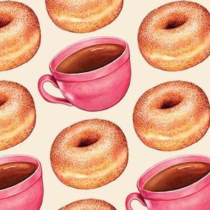 Coffee & Sugar Donut Swatch