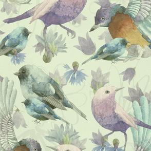 Bluebells and Bluebirds