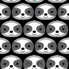 sloth faces