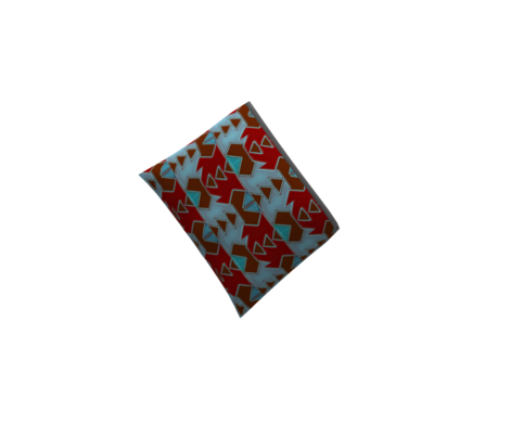Navajo Geometric, Cranberry