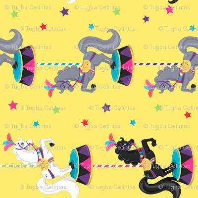 Funky Circus Horses