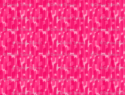 Hot Pink Paint Brush Strokes
