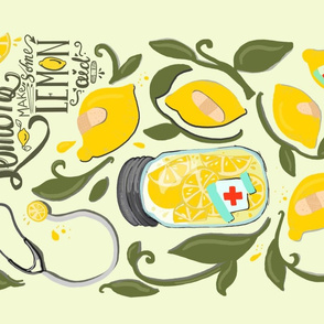 Lemonade/lemon-aide tea towel