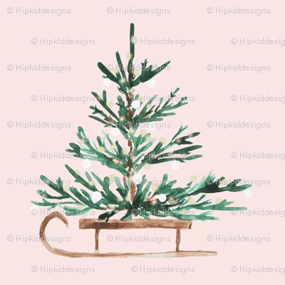 """4"""" Christmas Travels // Blush"""
