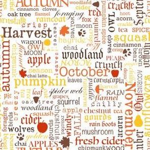 Harvest text