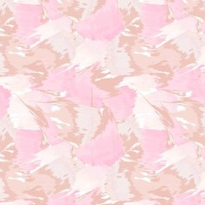 watercolor abstract pink peach