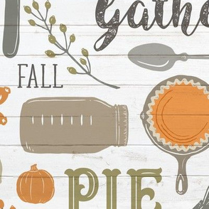 Sing for Your Supper THANKSGIVING // Gather Round & Give Thanks - A Fall Festival of Food, Fun, Family, Friends, and PIE!