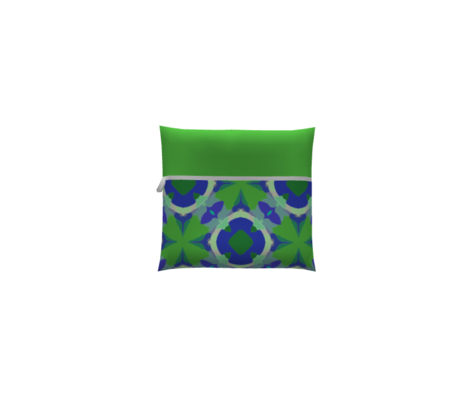 Blue + Green Pattern | Artistic Geometric