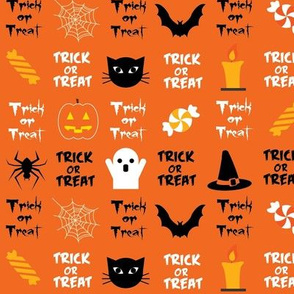 Trick or Treat - Orange