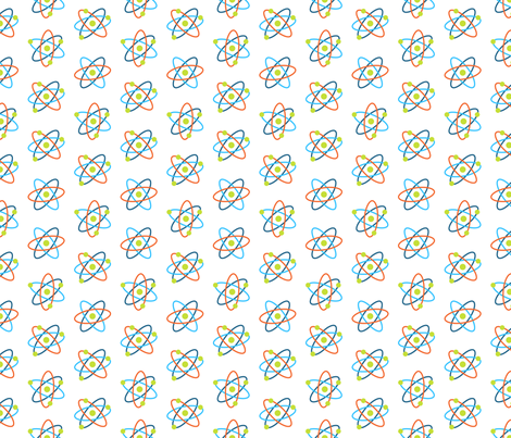 Science Atomic Symbols fabric by fabric_is_my_name on Spoonflower - custom fabric
