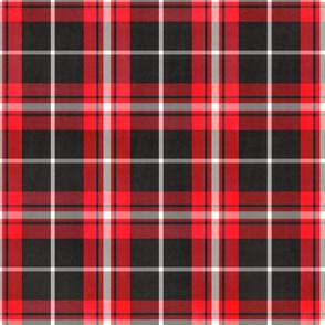 12 x 12 Christmas plaid red black white4