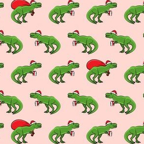 """(1"""" scale) Christmas Trex - pink C18BS"""