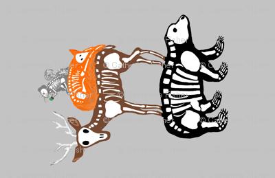 Woodland Skeletons