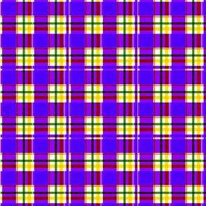 Trendy Ultra Violet Plaid