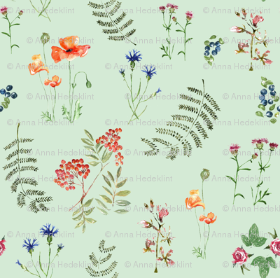 Botanica by Anna Aqua colour