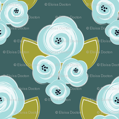 Corsage - Teal