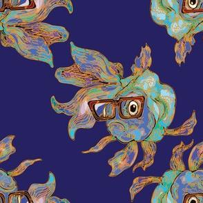 Hipster Goldfish