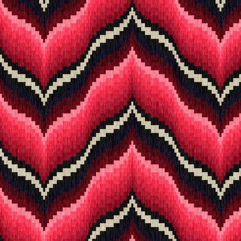 Rrbargello-curved-chevons-in-pink-and-burgundy_shop_preview