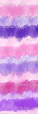 watercolor stripe pinks purples stripes