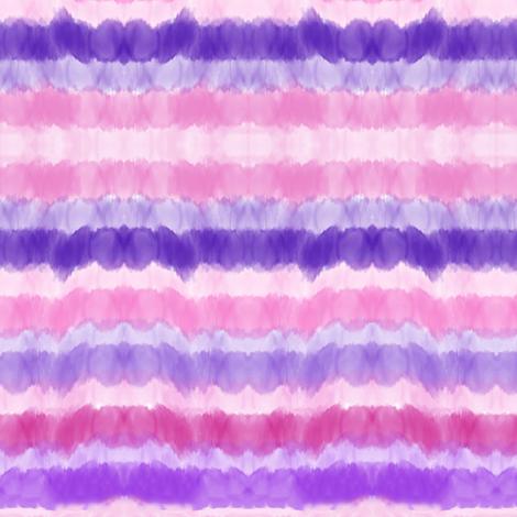 watercolor stripe pinks purples stripes fabric by jenlats on Spoonflower - custom fabric