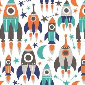 rockets - white