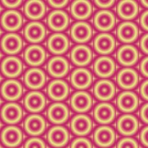 Ripple eye yellow pink