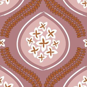 Garden Tile - Pink
