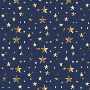 gold stars on navy dallas cowboys