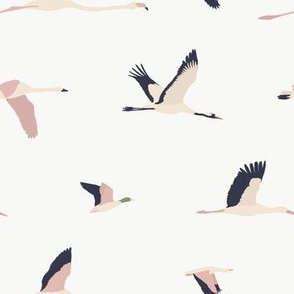 Flying Birds / Maison de Fleurs