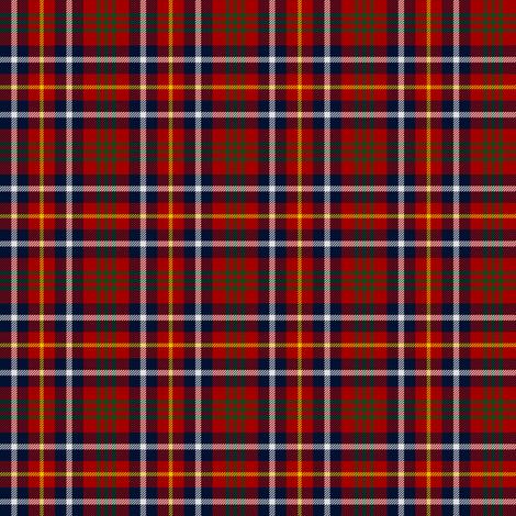 "Akins red tartan, 2"" fabric by weavingmajor on Spoonflower - custom fabric"