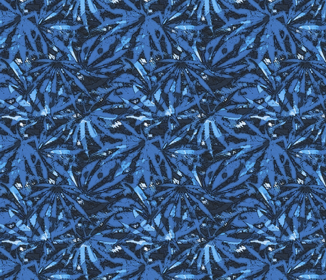 420 Midnight Blue fabric by camomoto on Spoonflower - custom fabric