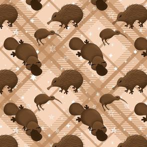platypus party tartan