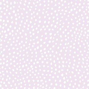 scalloping dots // pantone 83-1 // rotated