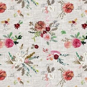 Fable Bouquet (linen) SML