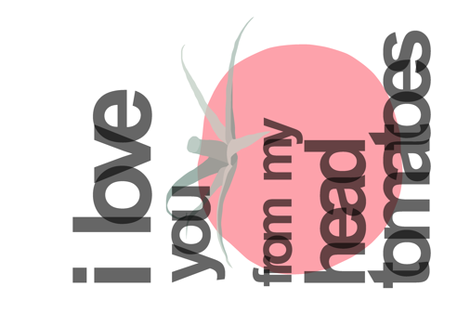 i love you... fabric by melanie_jane_designs on Spoonflower - custom fabric