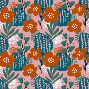 Naive, contemporary floral
