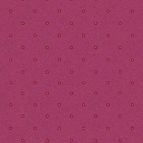 Purple Punk Polka Dot Print