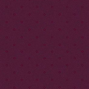 Plum Raisin Polka Dots