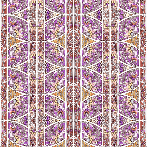 Femme Floral #8000317 fabric by edsel2084 on Spoonflower - custom fabric