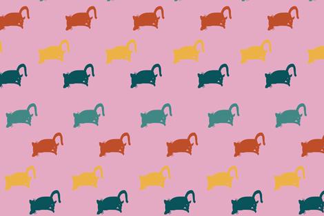 meow fabric by jp1986 on Spoonflower - custom fabric
