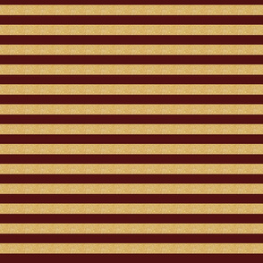 gold maroon stripe garnet and gold