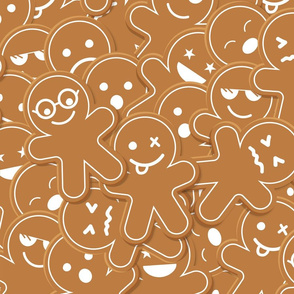 Christmas ginger bread pattern
