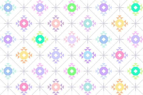 pastel patchwork sparkle  fabric by keweenawchris on Spoonflower - custom fabric