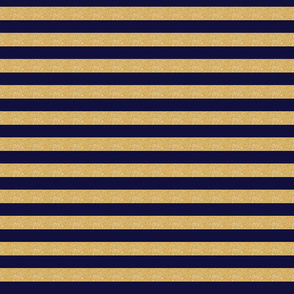 navy and gold stripe horizontal